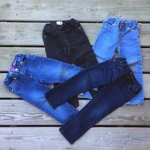 4pr TCP toddler skinny jeans